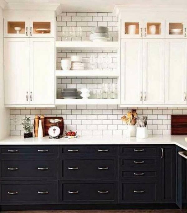 Черно-белая кухня, фото 3