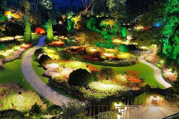 Ландшафтный дизайн двора частного дома, фото 3