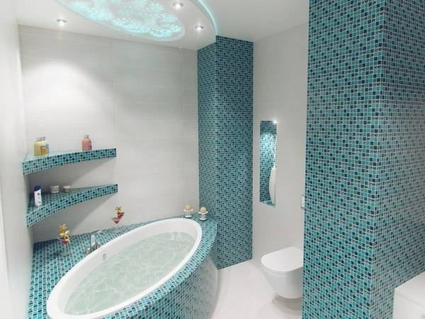 мозаичная плитка для ванной, фото 31