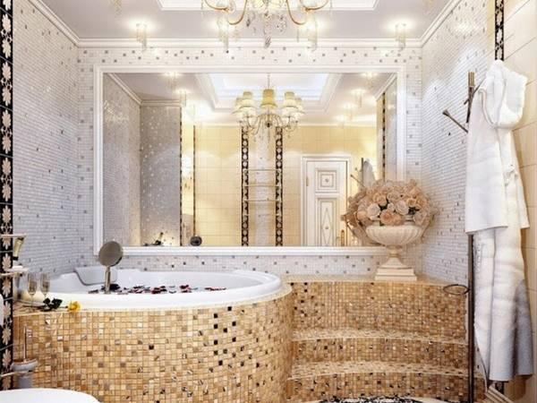 мозаичная плитка для ванной, фото 32
