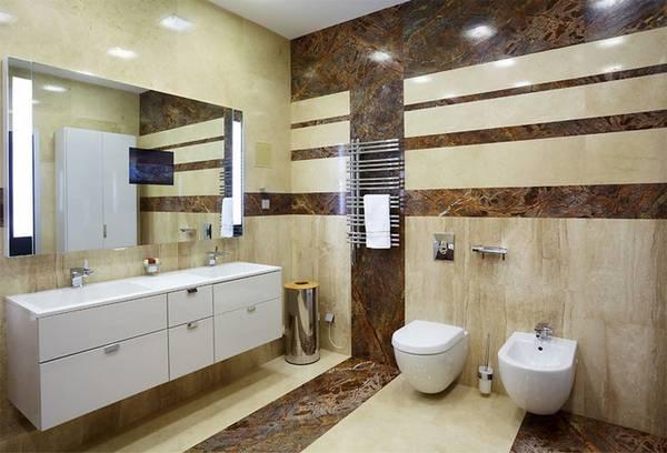 Отделка ванной натуральными материалами, фото 41