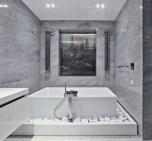 Отделка ванной натуральными материалами, фото 42