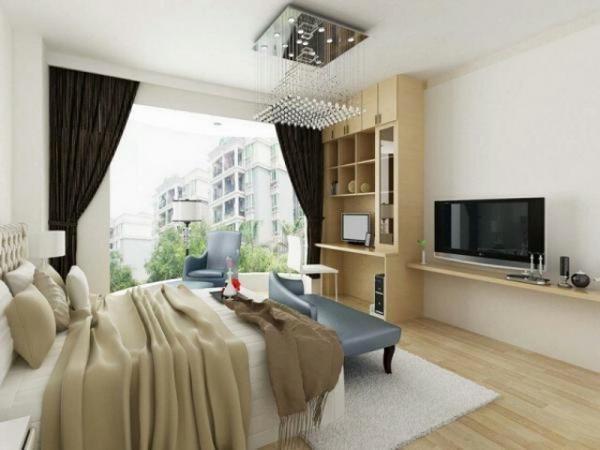 Какого цвета мебель подойдёт к светлому полу, фото 49