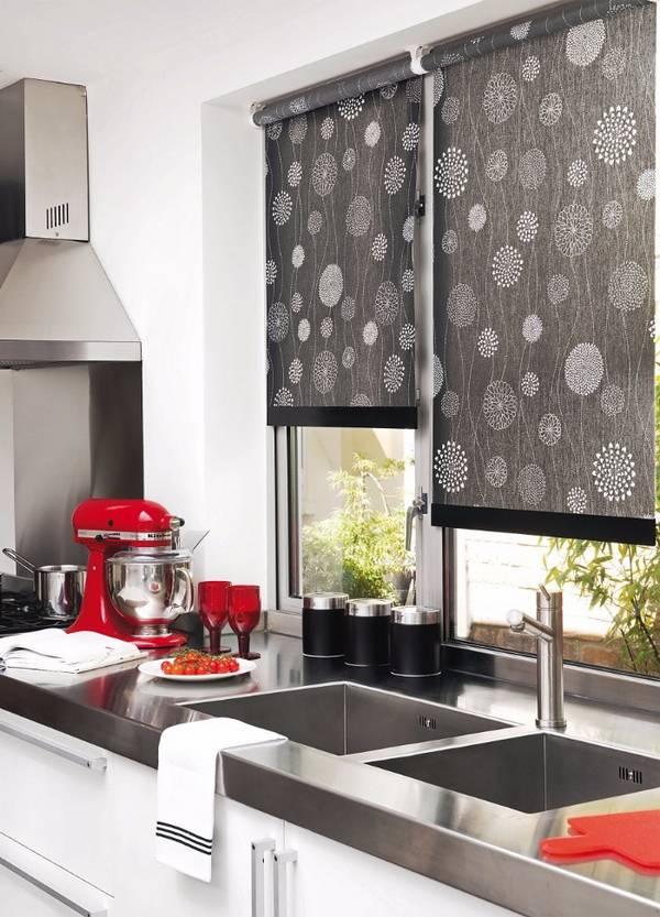 Черно-белая кухня, фото 5