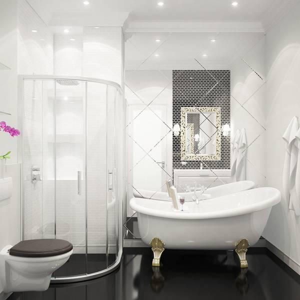 цветовая гамма и ремонт ванной, фото 50