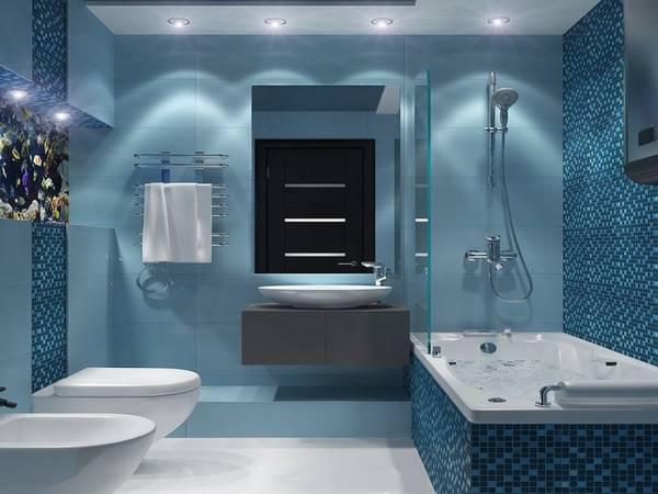 цветовая гамма и ремонт ванной, фото 52