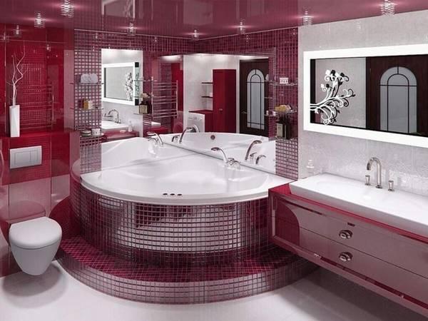 цветовая гамма и ремонт ванной, фото 53
