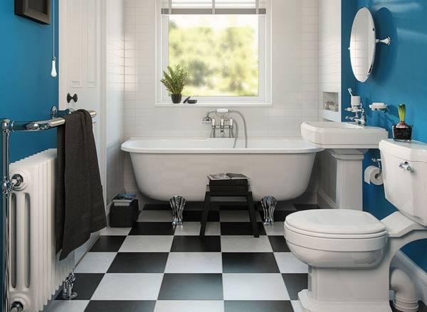 цветовая гамма и ремонт ванной, фото 54