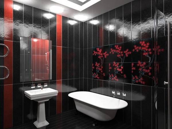 цветовая гамма и ремонт ванной, фото 57