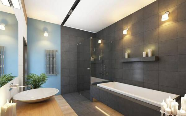 освещение ванной, фото 58