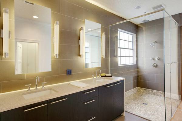 освещение ванной, фото 62