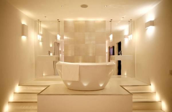 освещение ванной, фото 63