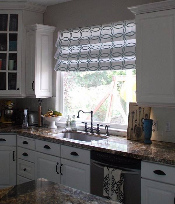 Черно-белая кухня, фото 8