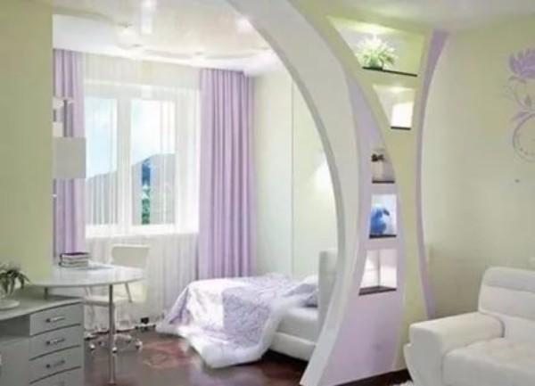 дизайн арки из гипсокартона фото 20