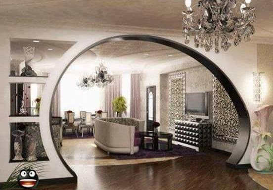 арка из гипсокартона, фото 4