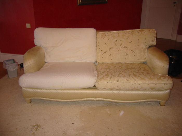 Перетяжка мягкой мебели до и после, фото 15