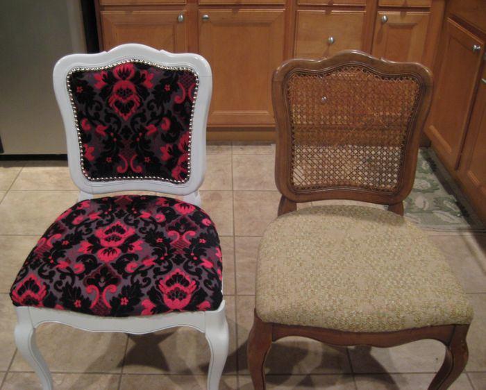 Перетяжка мягкой мебели до и после, фото 18