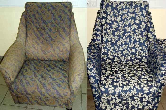 перетяжка мягкой мебели: фото 2