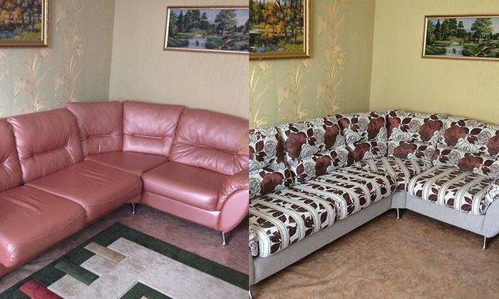 перетяжка мягкой мебели: фото 4