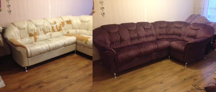 перетяжка мягкой мебели: фото 5