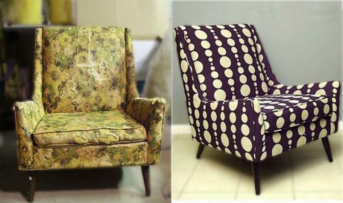 перетяжка мягкой мебели: фото 8