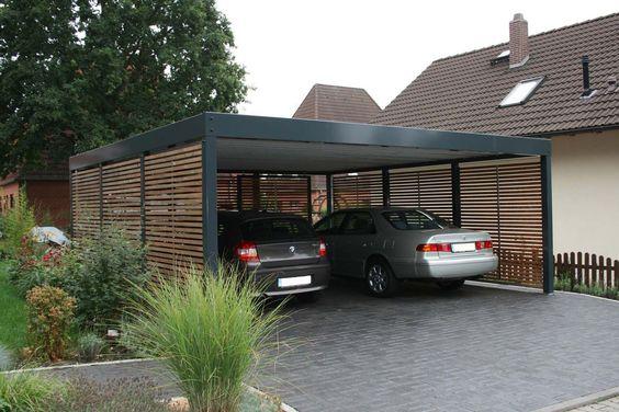 Навесы для автомобилей из поликарбоната с деревянным каркасом, фото 2