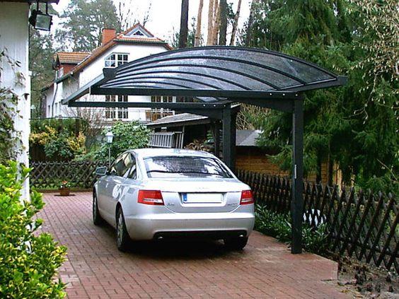 Консольные навесы для автомобилей из поликарбоната, фото 2