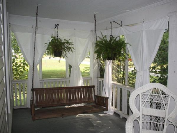 Декоративные украшения на летней кухне с верандой, фото 2