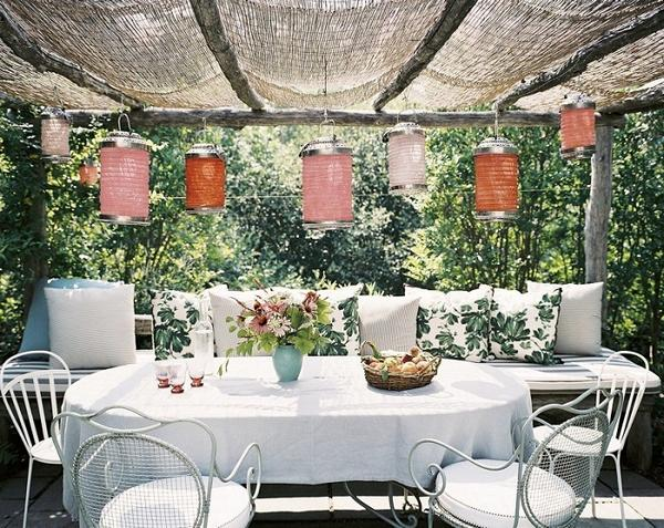 Декоративные украшения на летней кухне с верандой, фото 4