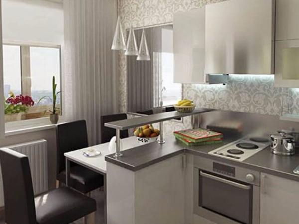 Дизайн кухни 10 кв м своими руками