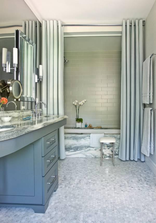 штора для ванной комнаты, фото 1