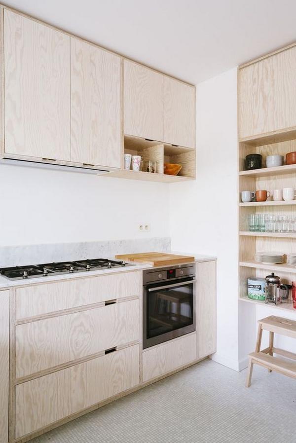 Кухни из дерева фото 1