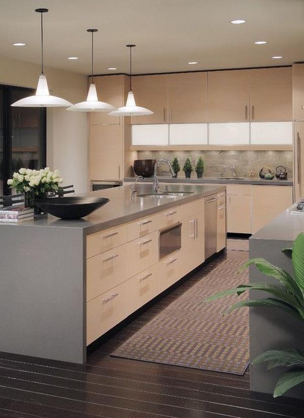 Кухни из дерева фото 3