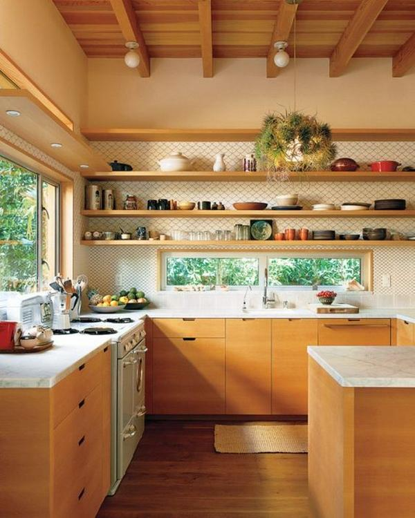 кухни из массива дерева фото 1
