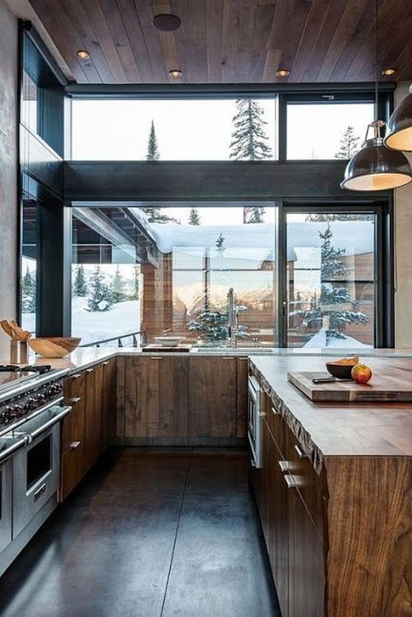 деревянные фасады для кухни, фото 1