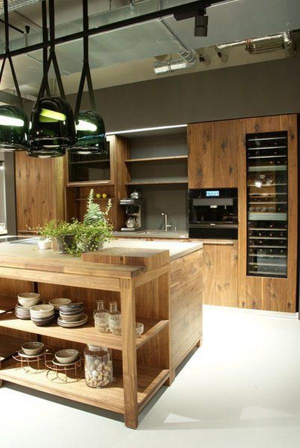 деревянные фасады для кухни, фото 2