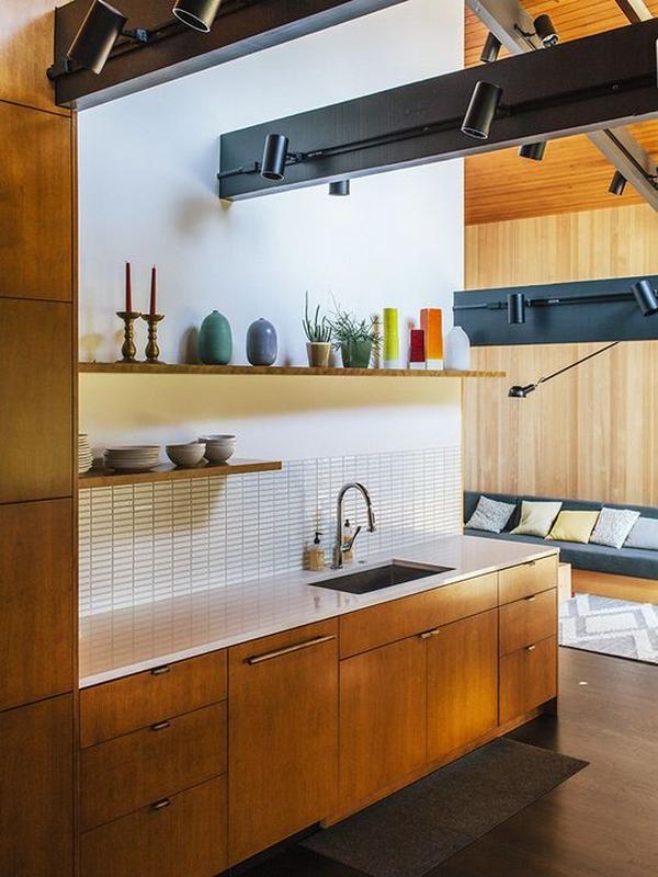 деревянные фасады для кухни, фото 3