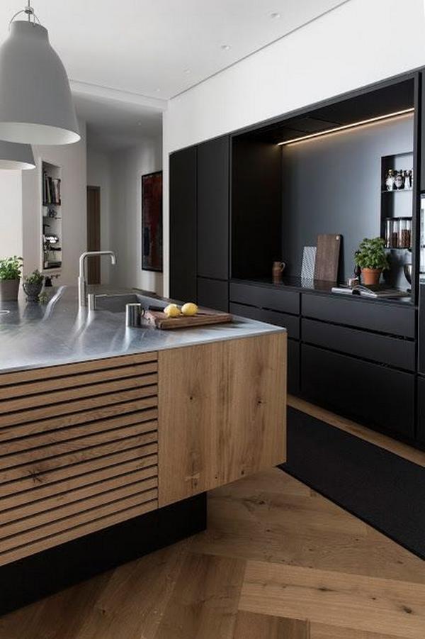 деревянные фасады для кухни, фото 4