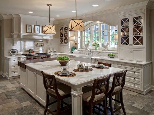 деревянные кухни фото 1