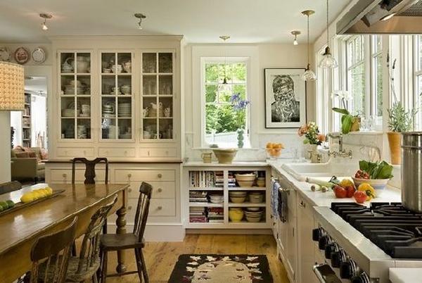 деревянные кухни фото 2