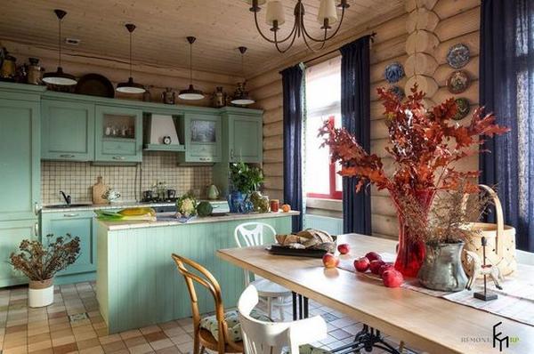 деревянные кухни фото 4