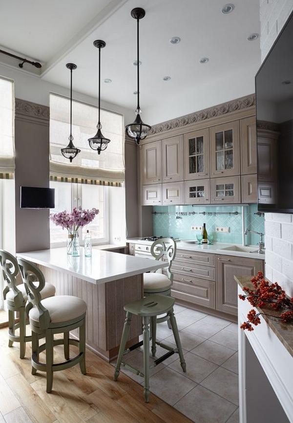 деревянные кухни фото 5