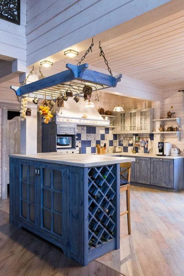 деревянные кухни фото 6