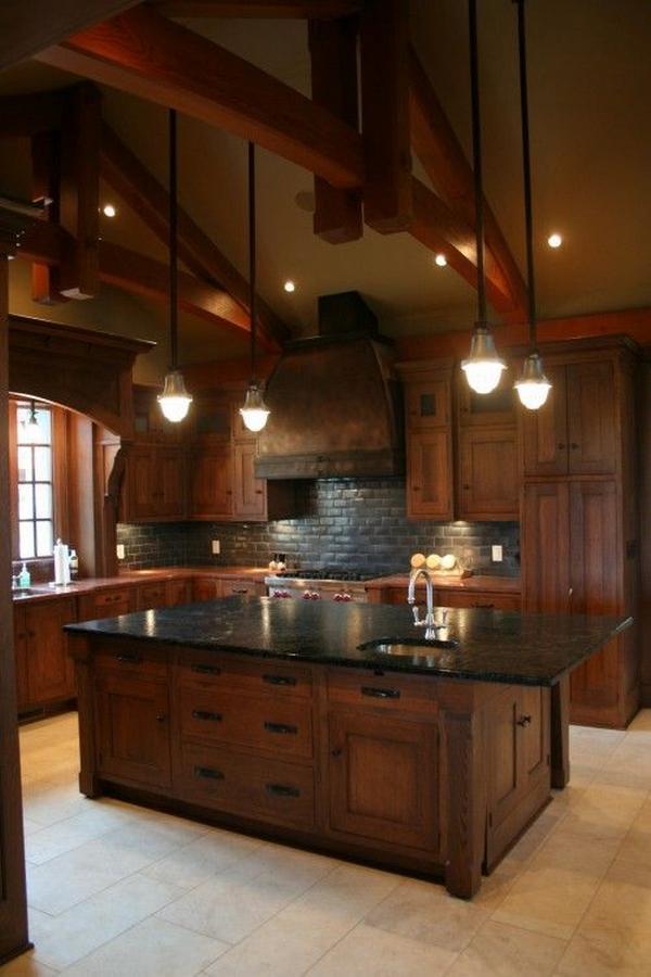 кухни из массива дерева, фото 1