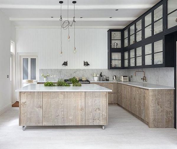 кухни из массива дерева, фото 10