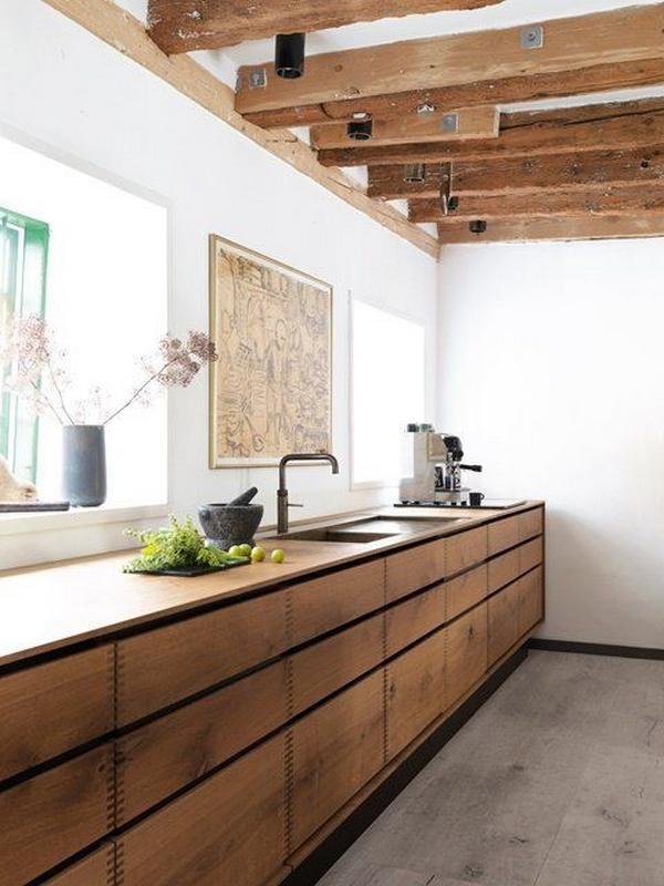 кухни из массива дерева, фото 2