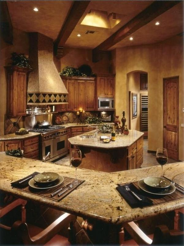 кухни из массива дерева, фото 3