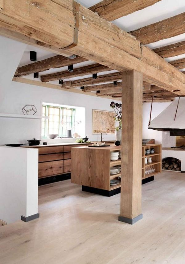 кухни из массива дерева, фото 8