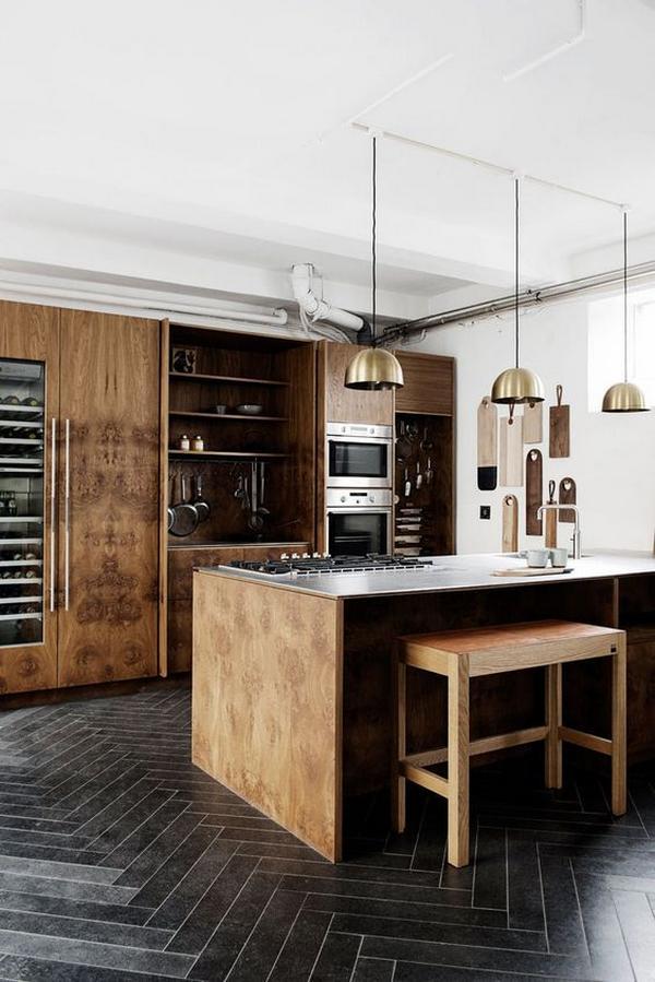 кухни из натурального дерева, фото 4