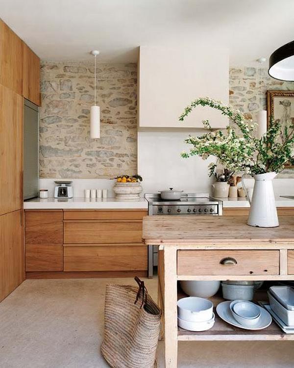 кухни из натурального дерева, фото 6